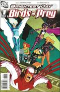 Birds of Prey The Brightest Day-1 Cover-2