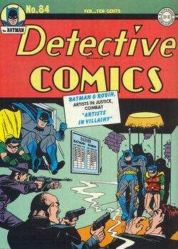 Detective Comics Vol 1-84 Cover-1