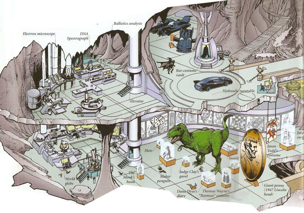 Batcave from W3 and Internet by trivto on DeviantArt