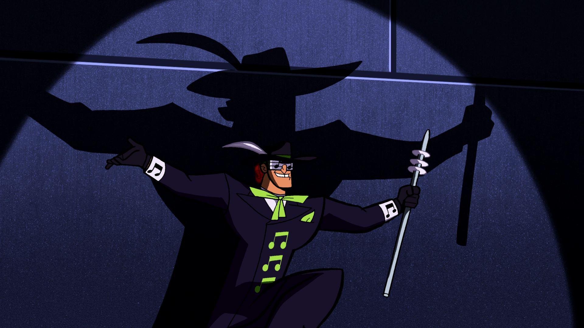Resultado de imagem para batman the brave and the bold music meister
