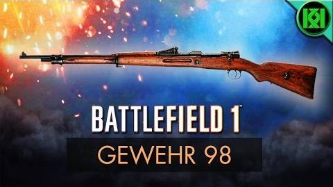 Battlefield 1 Gewehr 98 Review (Weapon Guide) BF1 Weapons Gewehr 98 (Sniper) Gameplay