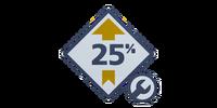 Gearhead 25% Boost