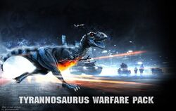 Tyrannosaurus Warfare Pack