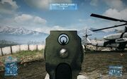 BF3 QBU-88 Iron Sight