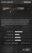 BFP4F Elite's USAS-12 Stats