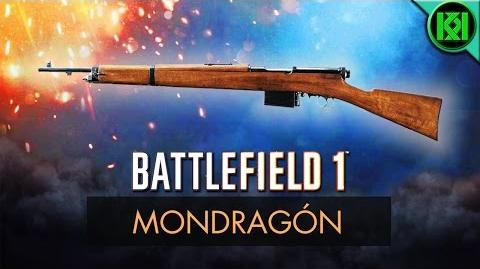 Battlefield 1 Mondragon Review (Weapon Guide) BF1 Weapons + Guns Mondragon Gameplay