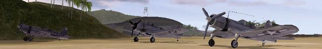 File:BF1942 USAF FLEET GUADALCANAL SBD DAUNTLESS F4U CORSAIR.png