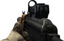 BFBC2 AKS-74U Red Dot Sight