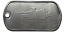 BF4 M1 Abrams Master Dog Tag