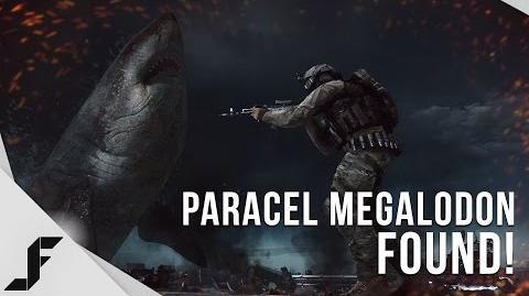 PARACEL STORM MEGALODON FOUND! - Battlefield 4 Easter Egg