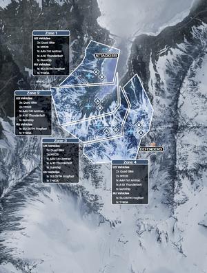 Alborz Mountains Rush Map