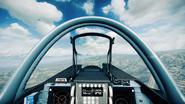 BF3 SU35 Cockpit HUD