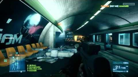 Battlefield 3 Beta PP-2000 Gameplay