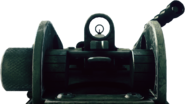 Battlefield 3 M249 Iron sight