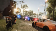 Battlefield Hardline 'Hotwire Barricade' Screenshot