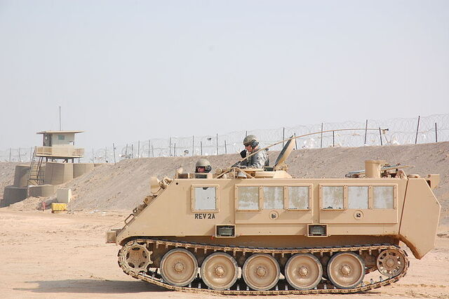 File:800px-USAF M113 APC at Camp Bucca, Iraq.jpg