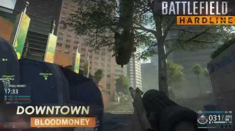 Battlefield Hardline Gameplay Blood Money on Downtown