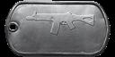 SG553 master dog tag