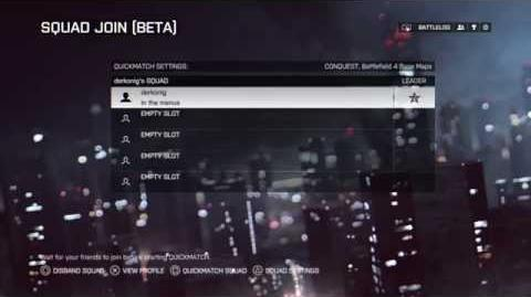 Battlefield 4: Official Squad Join Video
