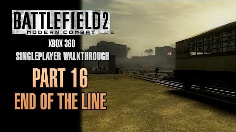 Battlefield 2 Modern Combat Walkthrough (Xbox 360) - Part 16 - End Of The Line