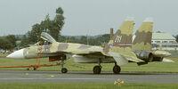 Su-37 Flanker-F
