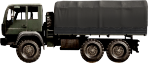 BF4 vehicle 6x6 Truck Baku