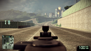 BFBC2 MG3 IronSight