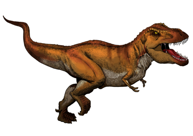 File:Tyrannosaurus Rex colored.png