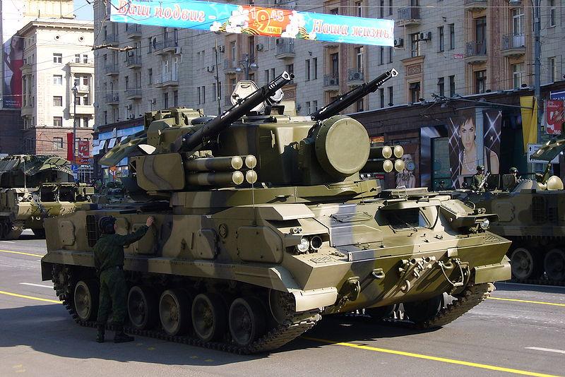 Resultado de imagen para 9K22 Tunguska
