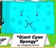 Giant Cyan Spongy