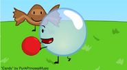 Bubble have a ball