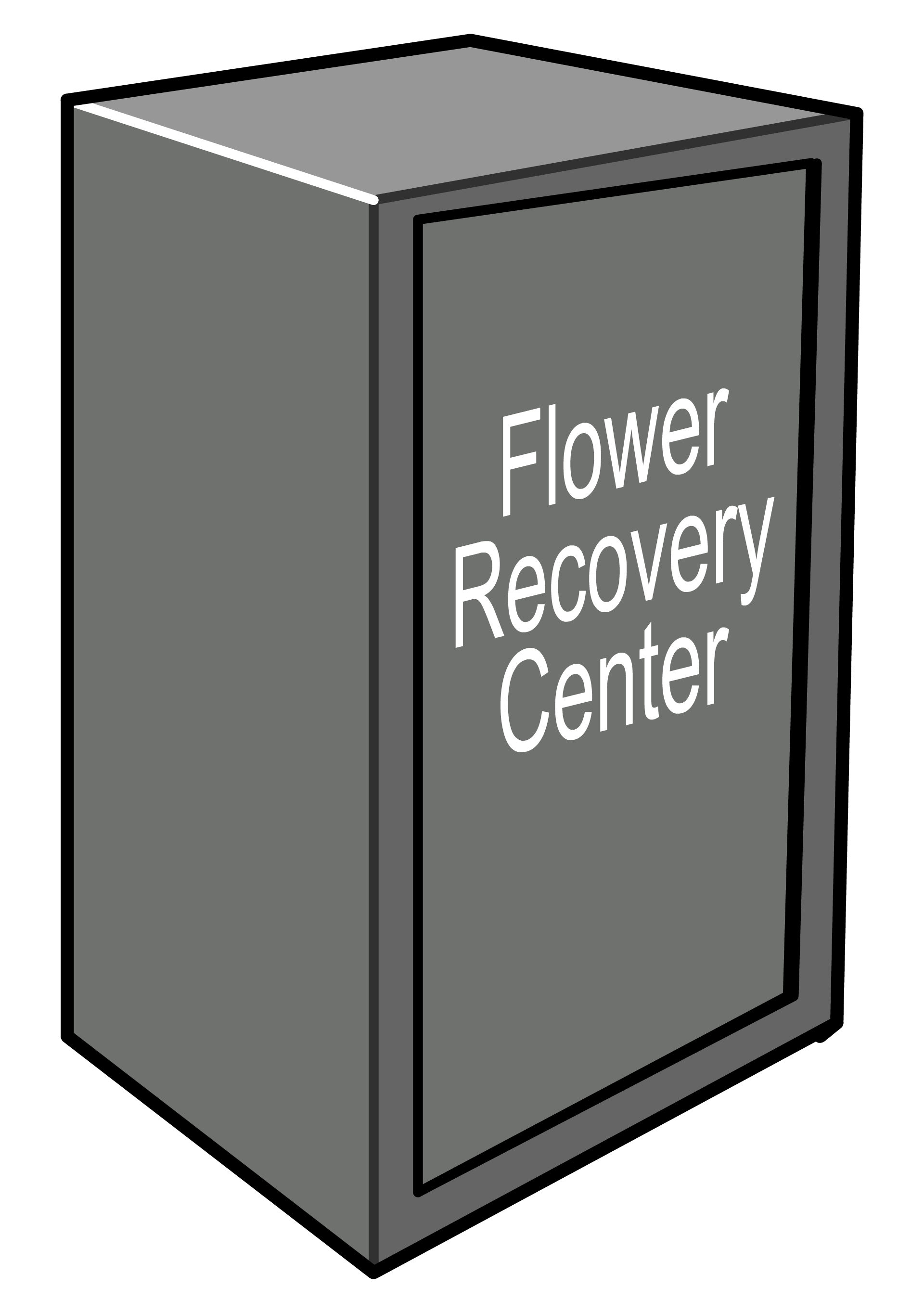 Flower recovery center