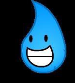Teardrop smiling