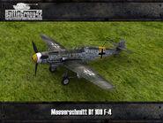 Messerschmitt Bf 109 F-4 render 1