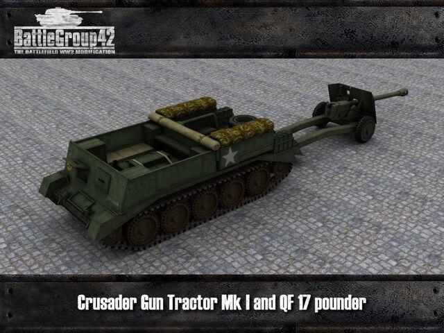 File:Crusader Gun Tractor & 17-pounder render 1.jpg