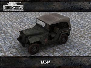 GAZ-67 render