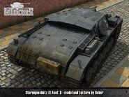 Sturmgeschütz III Ausf B render 2
