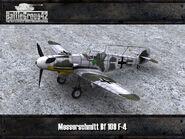 Messerschmitt Bf 109 F-4 render 3