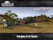 Nakajima Ki-84 Hayate 1