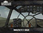 Heinkel He 111 cockpit 1