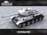 T-34-85 render 2