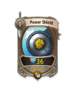 Melee 2 CARD HERO POWER SHIELD