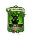Magic 0 CARD HERO NOXIOUS MIST MIN