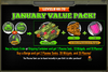 January Value Pack 66-70