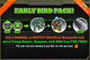 Early Bird Pack November 2013