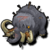 Ancient mammoth icon