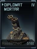 Diplomat Mortar