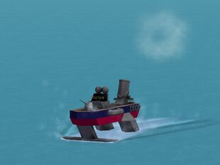 ISAF hydrofoil