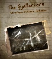 The Gjallarhorn Strategic Defense Initiative