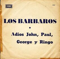 LosBarbaros-AdiosJohn,Paul,George,yRingo